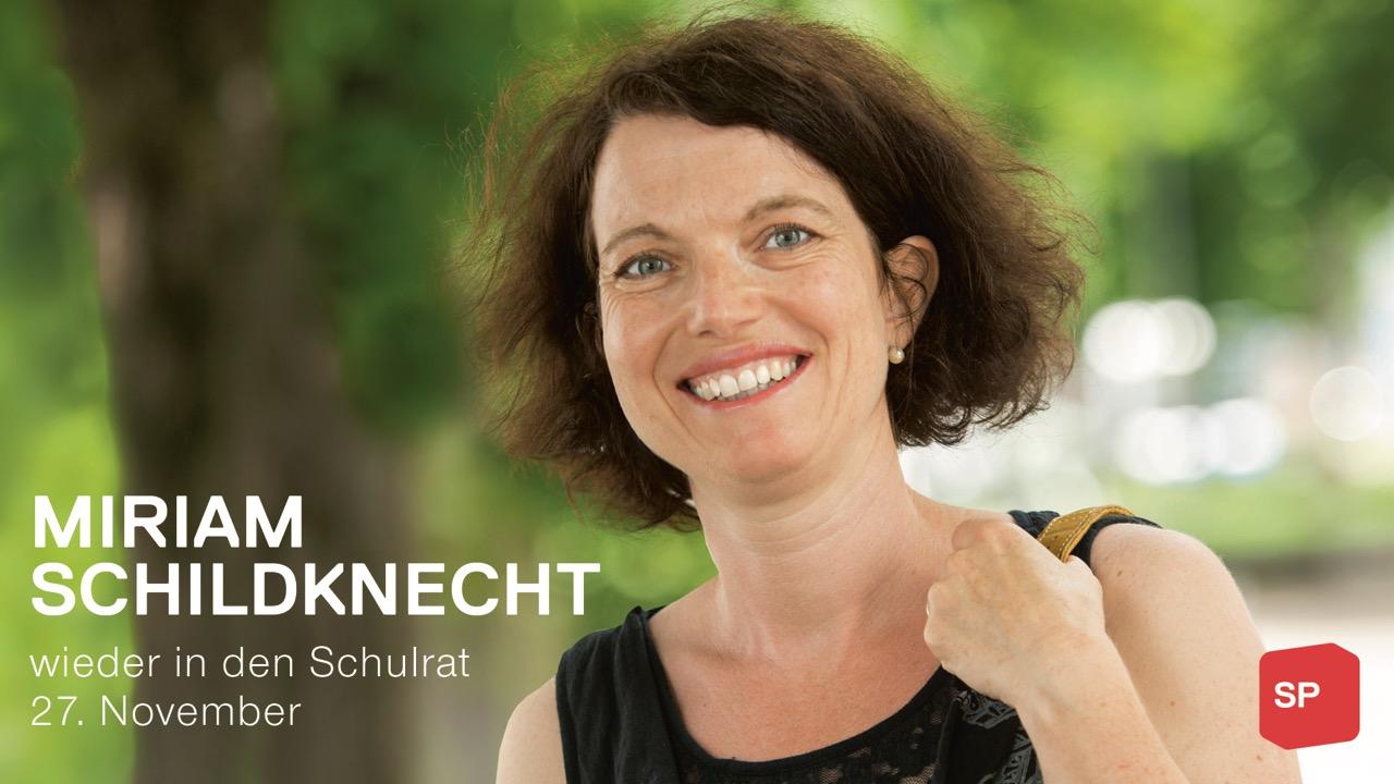 Miriam Schlildknecht wieder in den Schulrat
